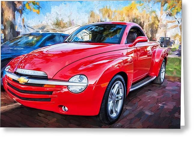 2006 Ssr Chevrolet Truck Painted  Greeting Card by Rich Franco