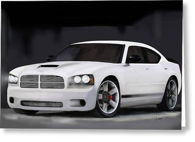 2008 Charger Greeting Card by Steve Knapp