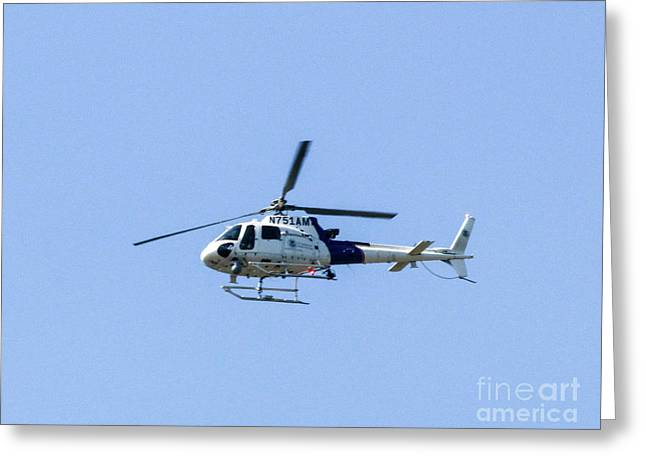 2008 Eurocopter As 350 B3 Greeting Card by William Rogers