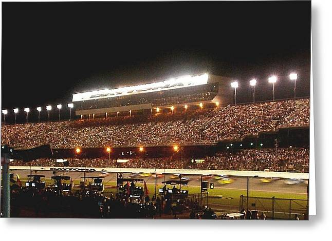 2009 Coke Zero 400 At Daytona International Speedway Greeting Card