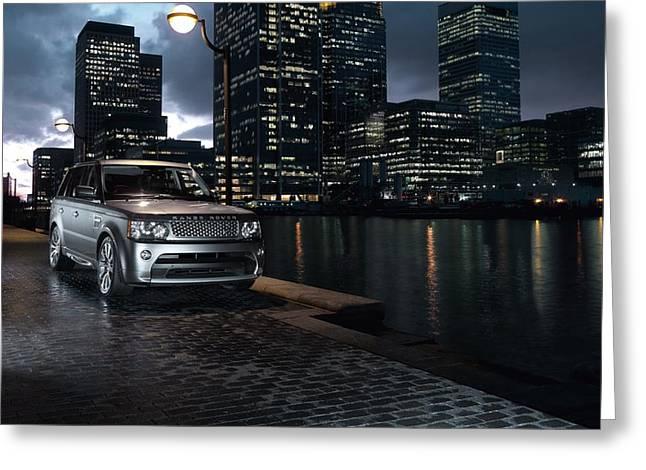 2010 Range Rover Sport 2 Greeting Card