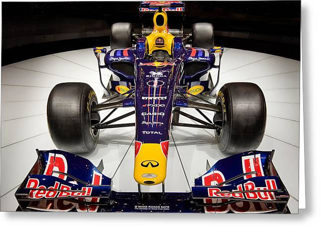 2010 Red Bull F1 Greeting Card