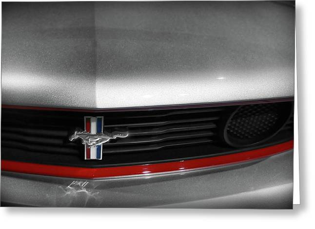 Louver Greeting Cards - 2011 Ford Mustang - Boss 302 Greeting Card by Gordon Dean II