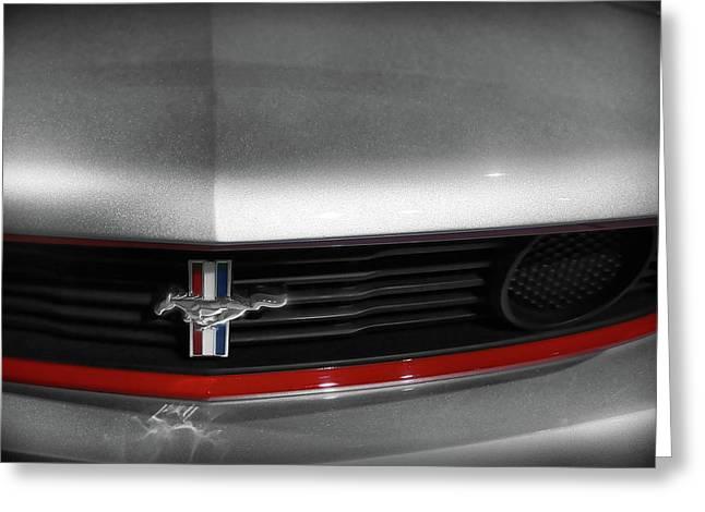 Naias Digital Greeting Cards - 2011 Ford Mustang - Boss 302 Greeting Card by Gordon Dean II