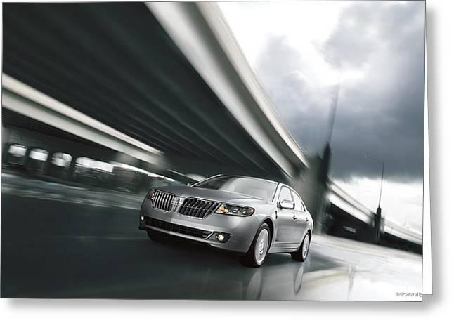 2011 Lincoln Mkz Hybrid  Greeting Card