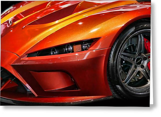 2012 Falcon Motor Sports F7 Series 1  Greeting Card by Gordon Dean II