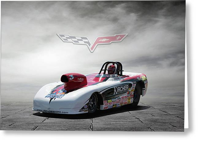 2013 Corvette Greeting Card