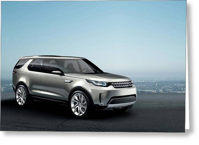 2014 Land Rover Discovery Vision Concept Wide Greeting Card by F S