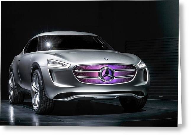 2014 Mercedes Benz Vision G Code Wide Greeting Card by F S