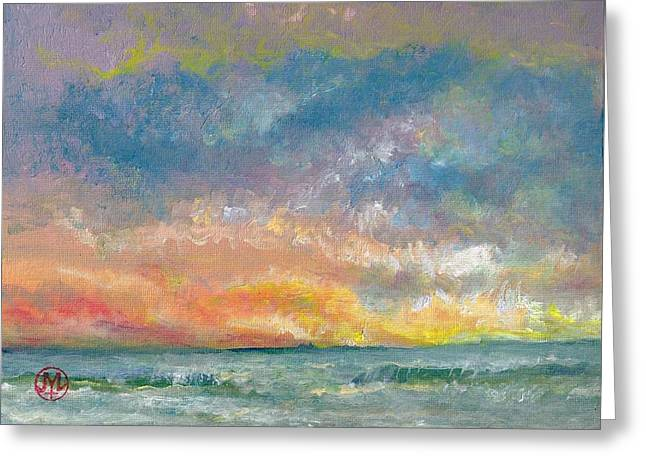 2014 Seascape Greeting Card