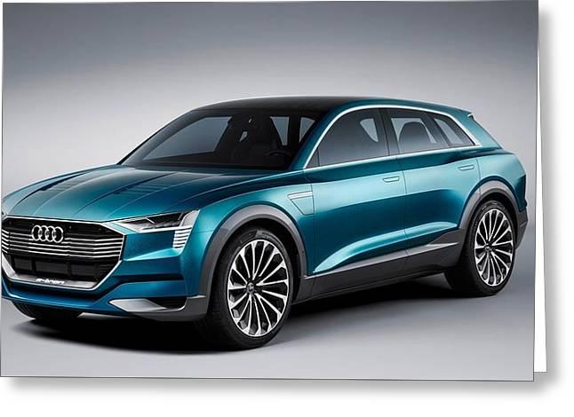 2015 Audi E Tron Quattro Concept 5  1 Greeting Card