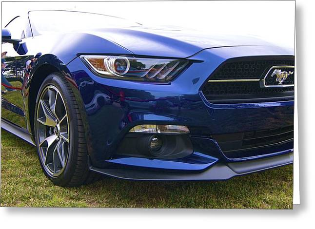 2015 Ford Gt Mustang Greeting Card