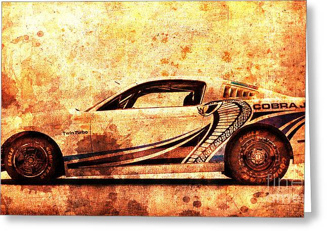 2015 Ford Mustang Cobra Jet Turbo Greeting Card by Pablo Franchi