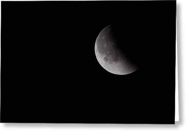 2015 Harvest Moon Eclipse 2 Greeting Card