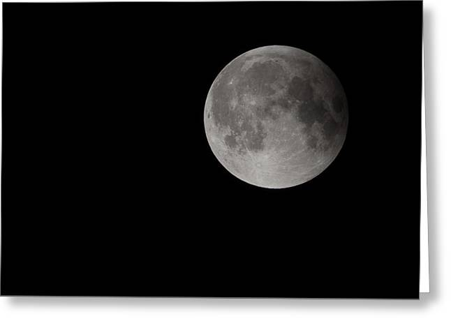 2015 Harvest Moon Supermoon Greeting Card by Terry DeLuco