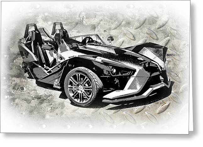 2015 Polaris Slingshot 2 Greeting Card by Melissa Smith