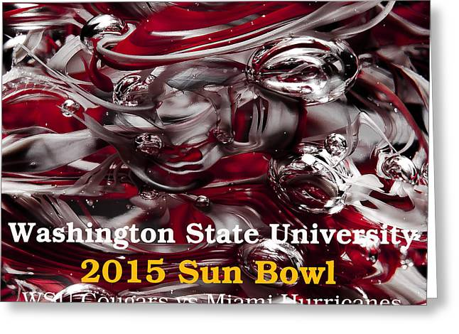 2015 Sun Bowl Greeting Card by David Patterson