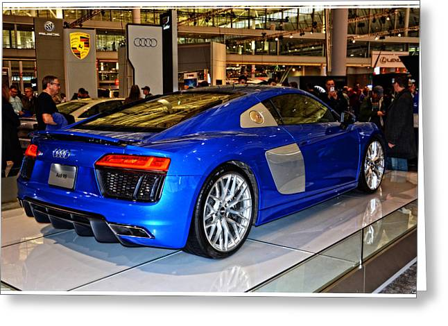 2016 Audi R8 Greeting Card