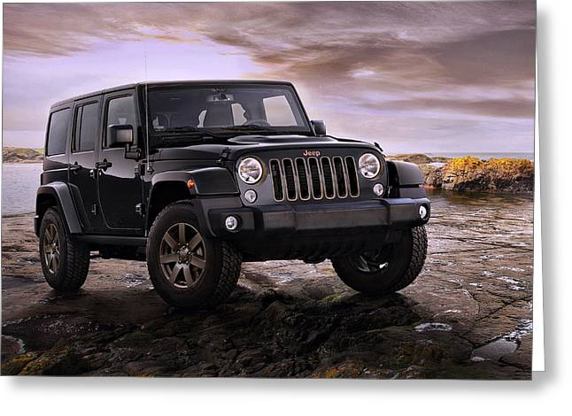 2016 Jeep Wrangler 75th Anniversary Model Greeting Card