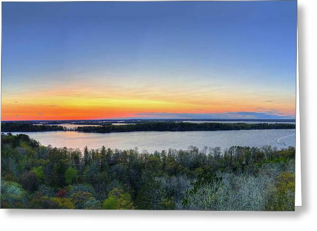 2016 Minnesota Governors Fishing Opener Commemorative Print Greeting Card