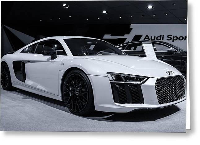 2017 Audi R8 Greeting Card