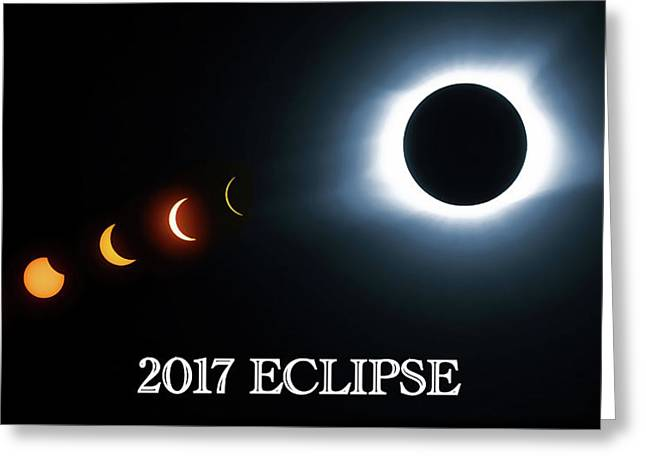 2017 Eclipse Series Greeting Card