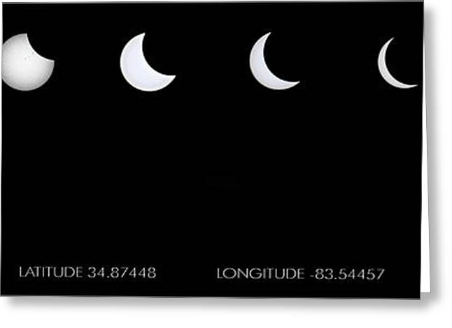 2017 Solar Eclipse Greeting Card