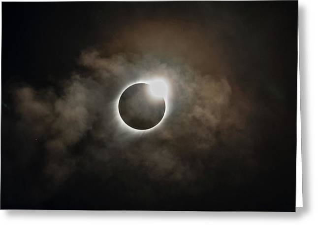 2017 Solar Eclipse Exit Ring Greeting Card