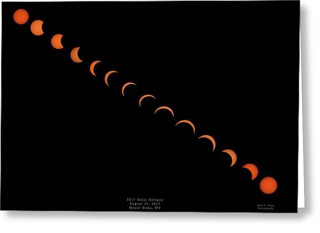 2017 Solar Eclipse Greeting Card
