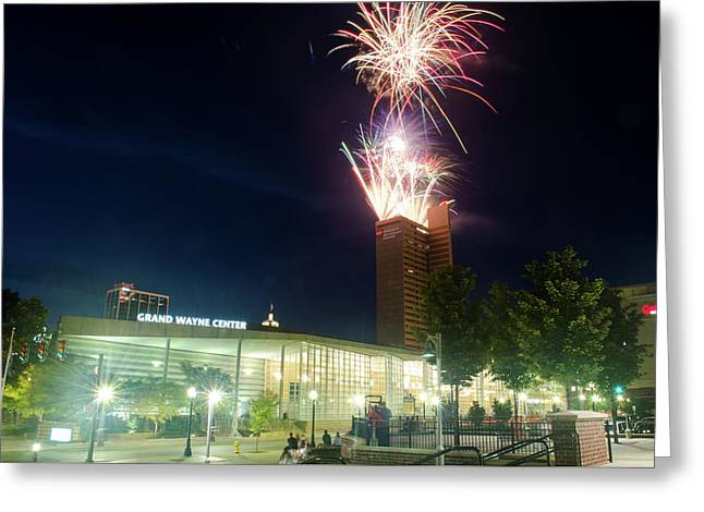 2017 Three Rivers Festival Aep Fireworks Greeting Card