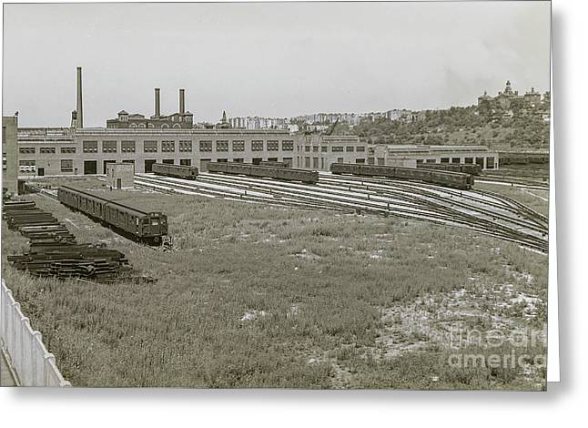 207th Street Railyards Greeting Card