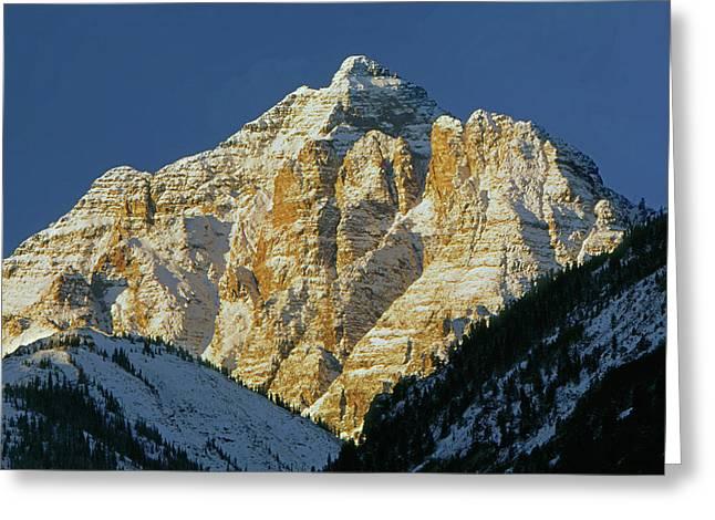 210418 Pyramid Peak Greeting Card