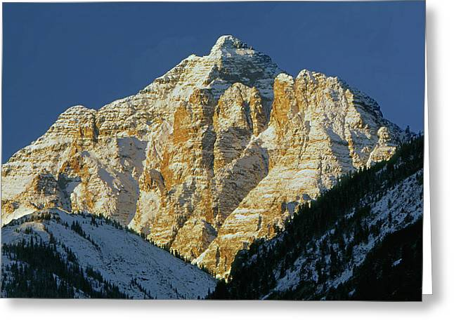 210418 Pyramid Peak Greeting Card