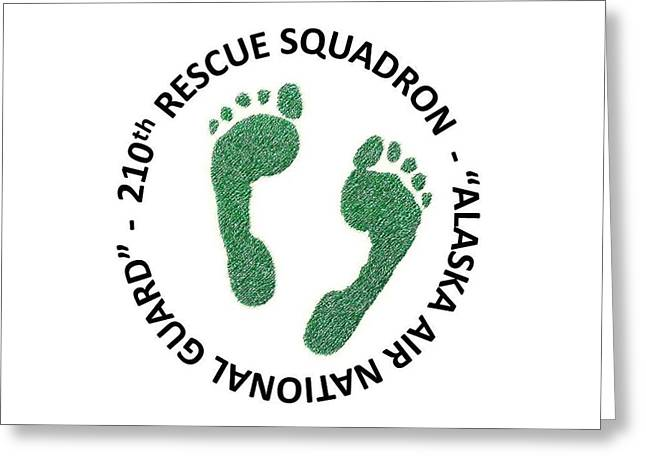 210th Rescue Squdron Greeting Card