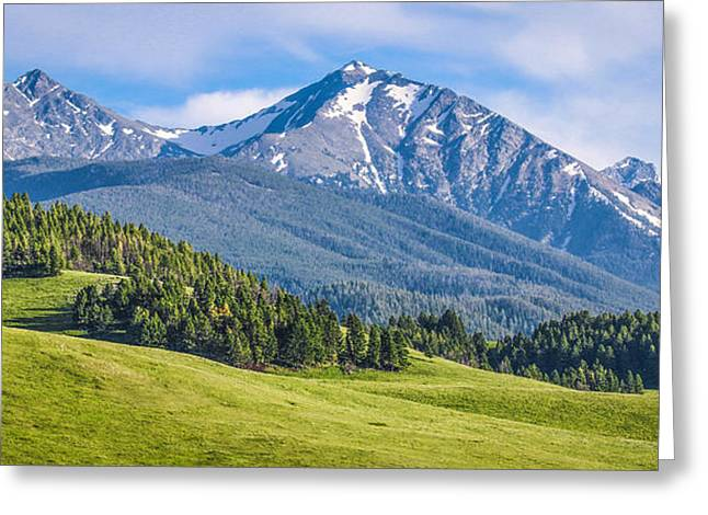 #215 - Spanish Peaks, Southwest Montana Greeting Card