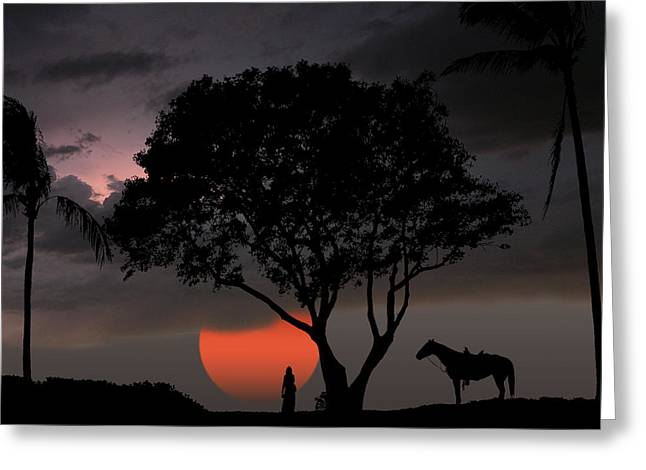 2154 Greeting Card by Peter Holme III