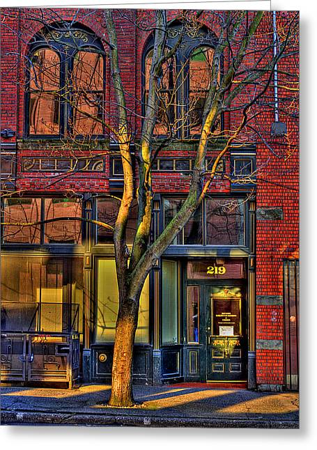 219 Washington Street Greeting Card