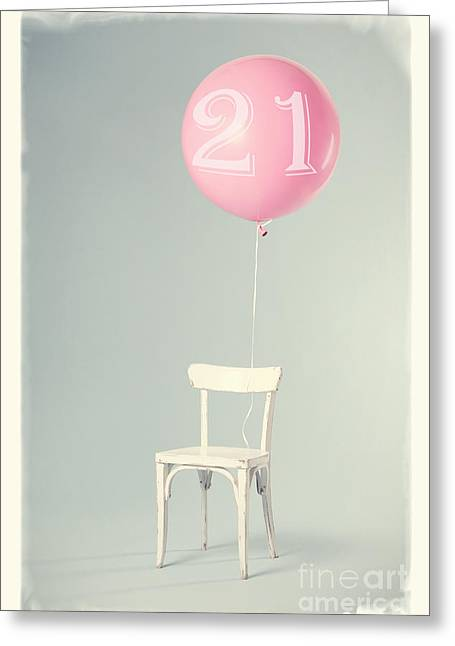 21th Birthday Greeting Card