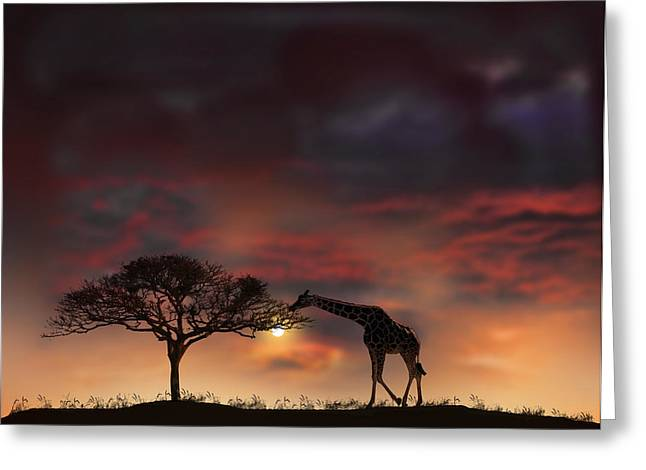 2200 Greeting Card by Peter Holme III