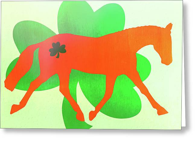 Celtic Lengthen Trot  Greeting Card by JAMART Photography