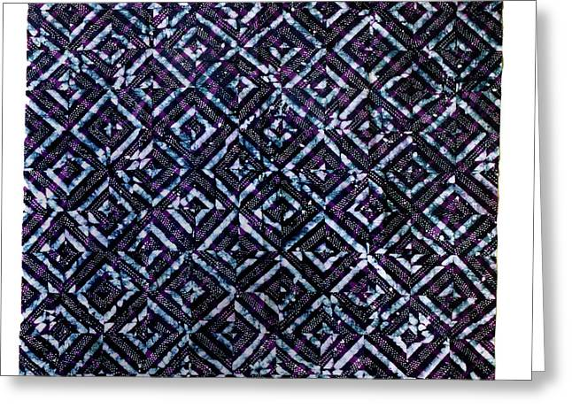 Large Tapestries - Textiles Greeting Cards - 23 Greeting Card by Mildred Thibodeaux