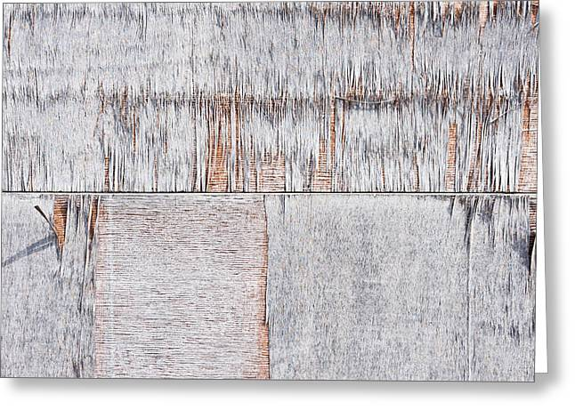 Weathered Wood Greeting Card