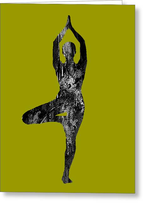 Inspirational Greeting Cards - Yoga Collection Greeting Card by Marvin Blaine