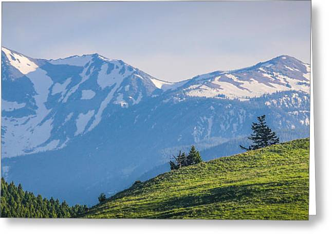 #238 - Spanish Peaks, Southwest Montana Greeting Card
