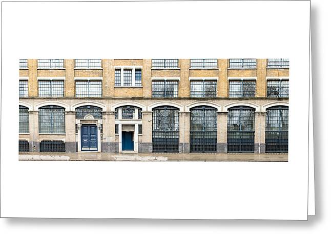 239 Long Street, London Greeting Card by Chay Bewley