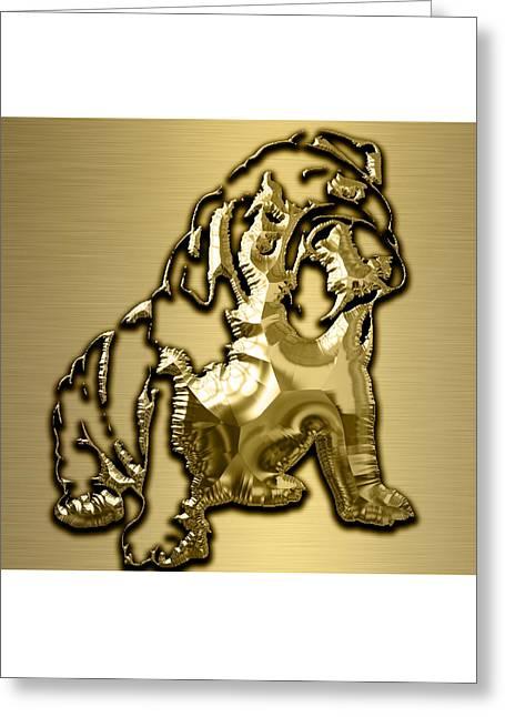 English Bulldog Collection Greeting Card