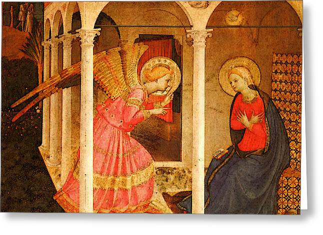 Fra Angelico  Greeting Card by Fra Angelico