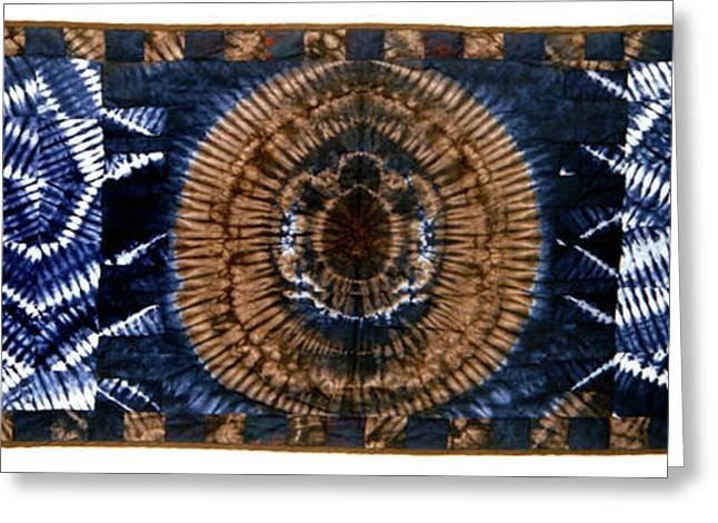 Large Tapestries - Textiles Greeting Cards - 24 Greeting Card by Mildred Thibodeaux