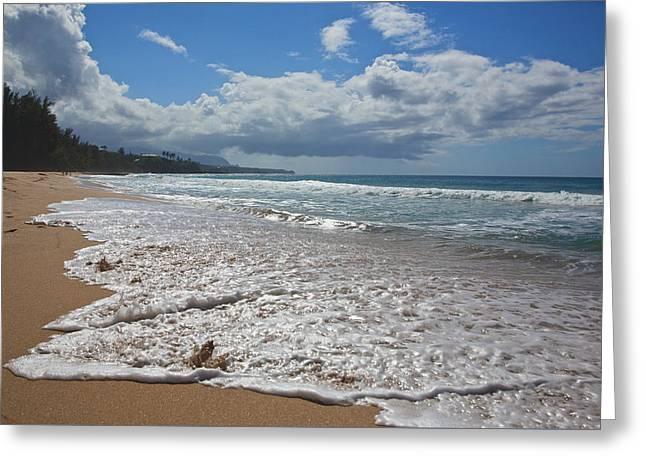 Secret Beach Kauai Greeting Card