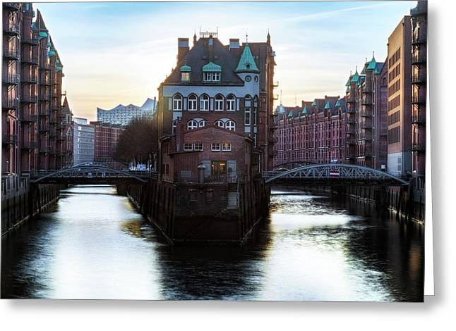 Hamburg - Germany Greeting Card